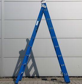 Ladder 3 x 8 treden